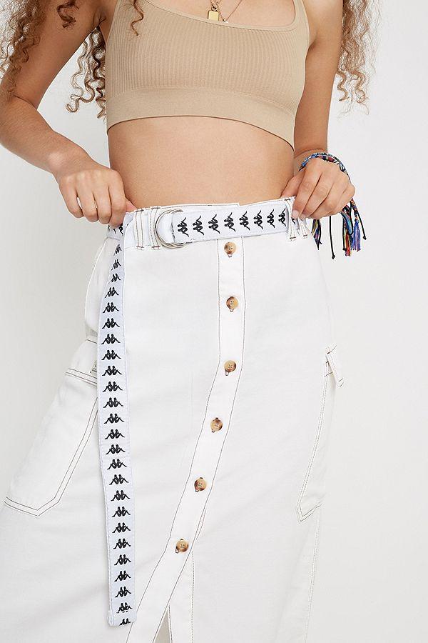 ceinture kappa blanche femme