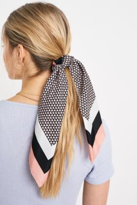 Lana Silk Scarf Scrunchie by Urban Outfitters