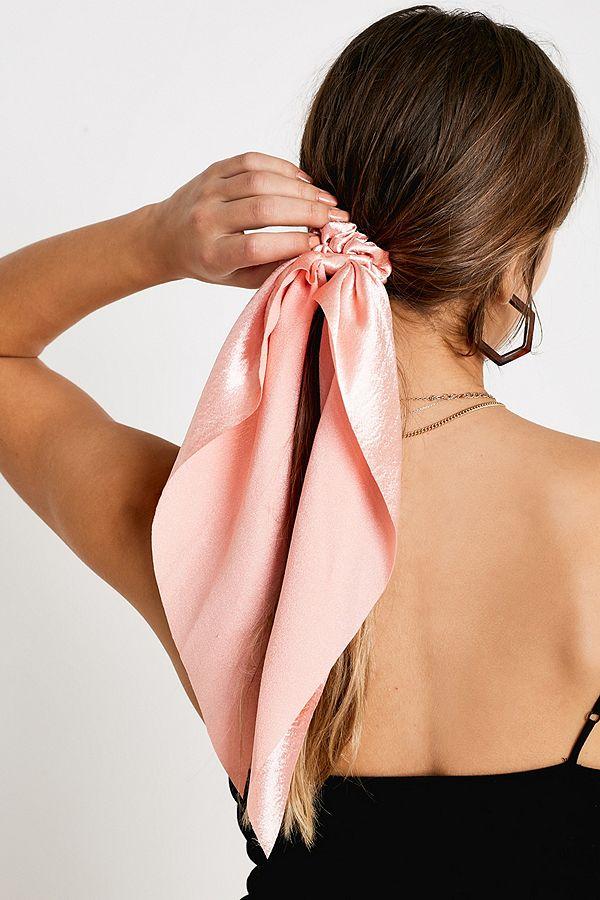 profitez de la livraison gratuite lacer dans classique Long foulard chouchou en soie