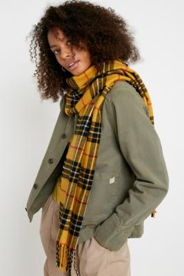 Uo Check Scarf by Urban Outfitters
