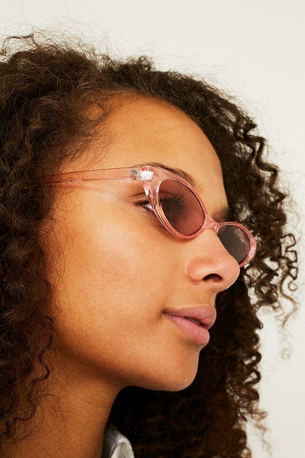 2d79f9e22 Retro Slim Cat Eye Sunglasses   Urban Outfitters UK