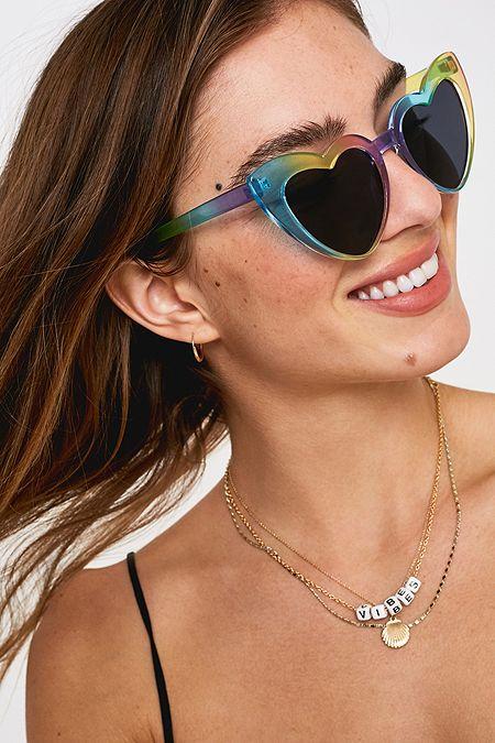 866eafa2bccb85 Mollie Heart Sunglasses