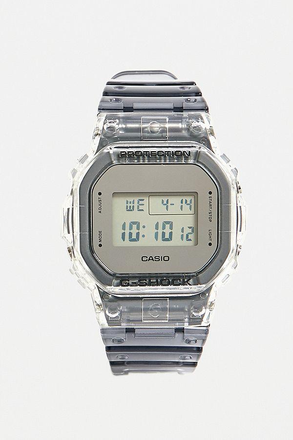 """Casio G Shock – Uhr """"Skeleton"""" mit transparentem Gehäuse"""