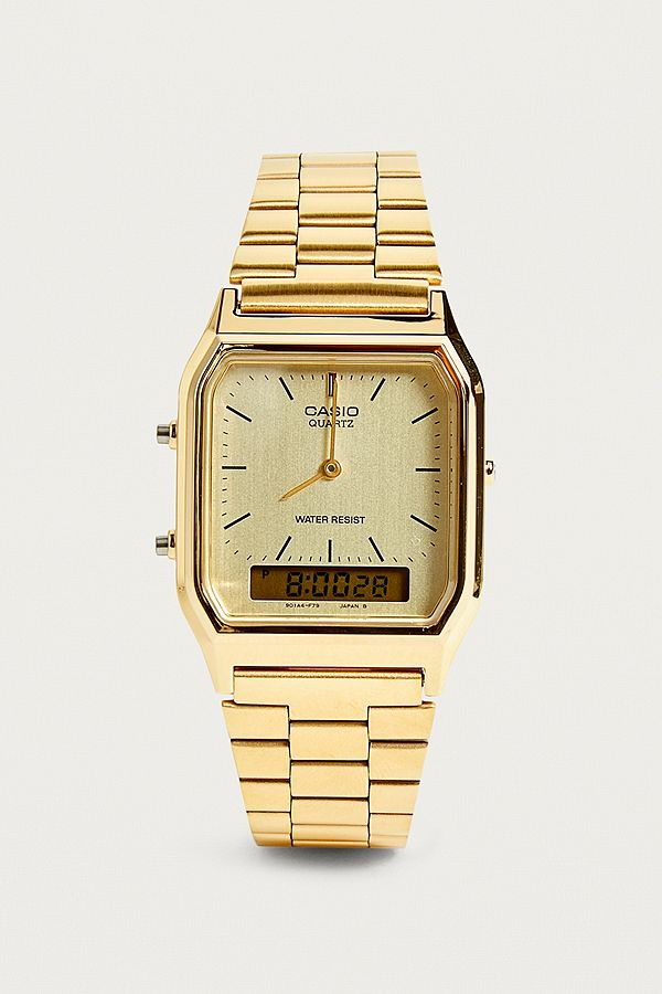 561e565f7 Casio Vintage Face Hold Watch | Urban Outfitters UK
