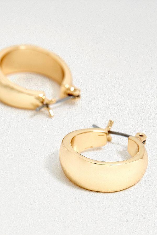 0cdc742fc8fd64 Gia Chunky Hoop Earrings | Urban Outfitters UK