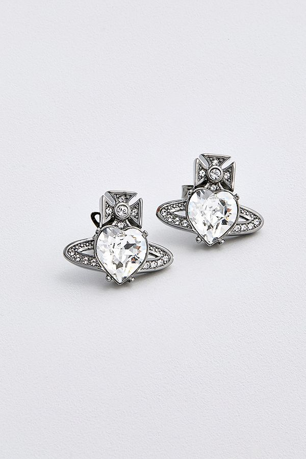 3859e645b Vivienne Westwood Ariella Stud Earrings | Urban Outfitters UK