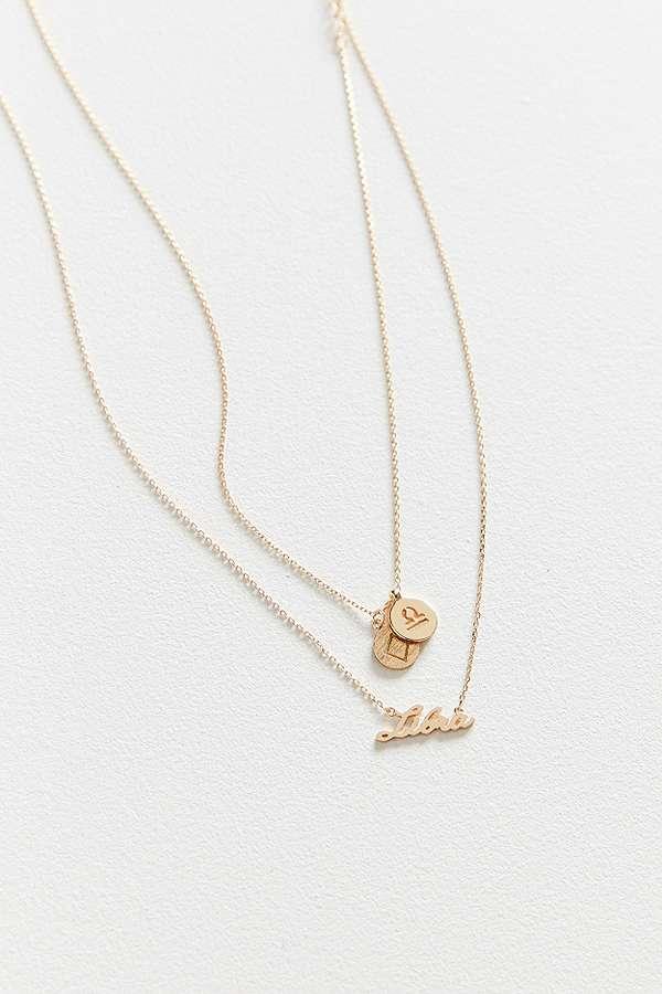 c6ba967c8 Zodiac Layering Charm Necklace Set | Urban Outfitters UK