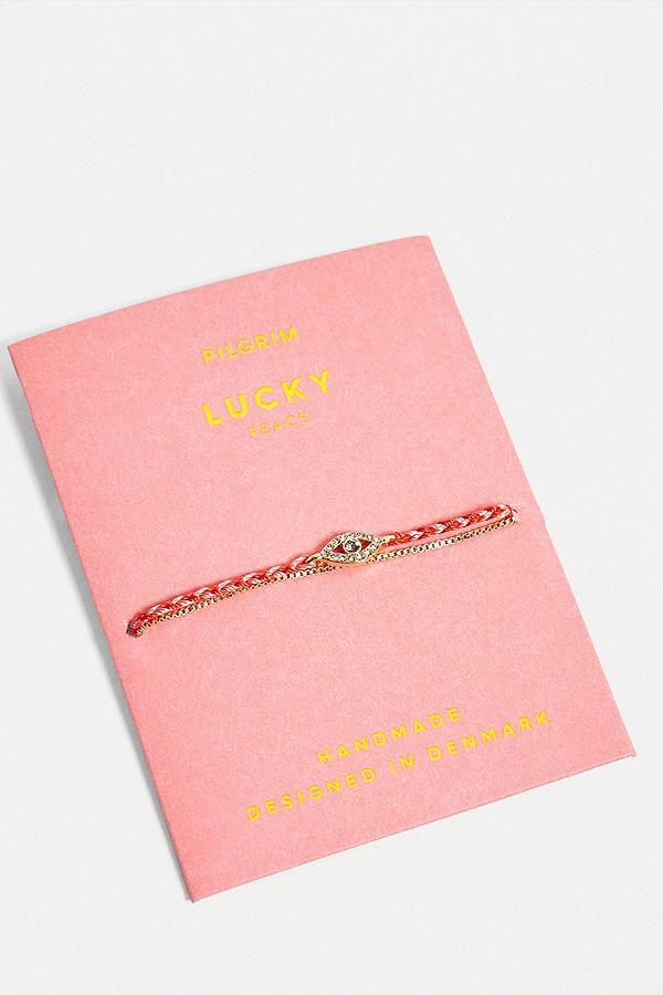 Pilgrim   Bracelet De Sagesse Porte Bonheur by Pilgrim