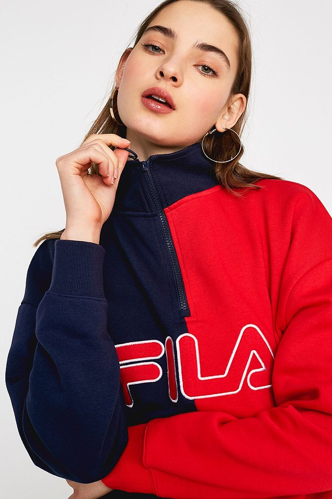 FILA Sweatshirt Nayara avec zip   Urban Outfitters FR