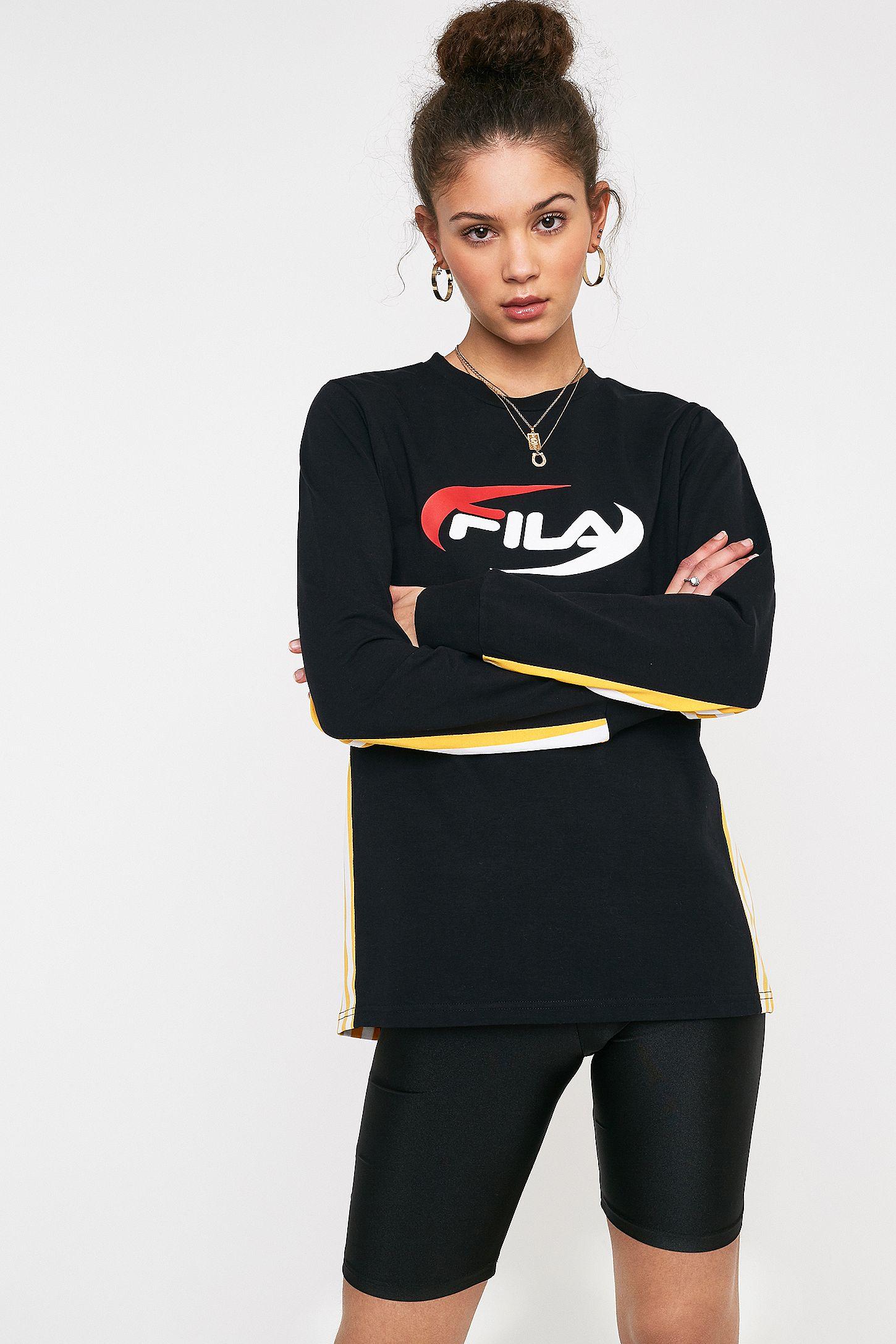 04a05c24 FILA Settanta Black T-Shirt
