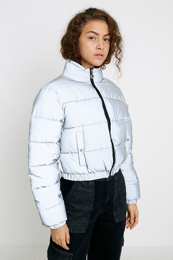 free delivery multiple colors best loved FILA UO Exclusive Cassandra Reflective Puffer Jacket | Urban ...