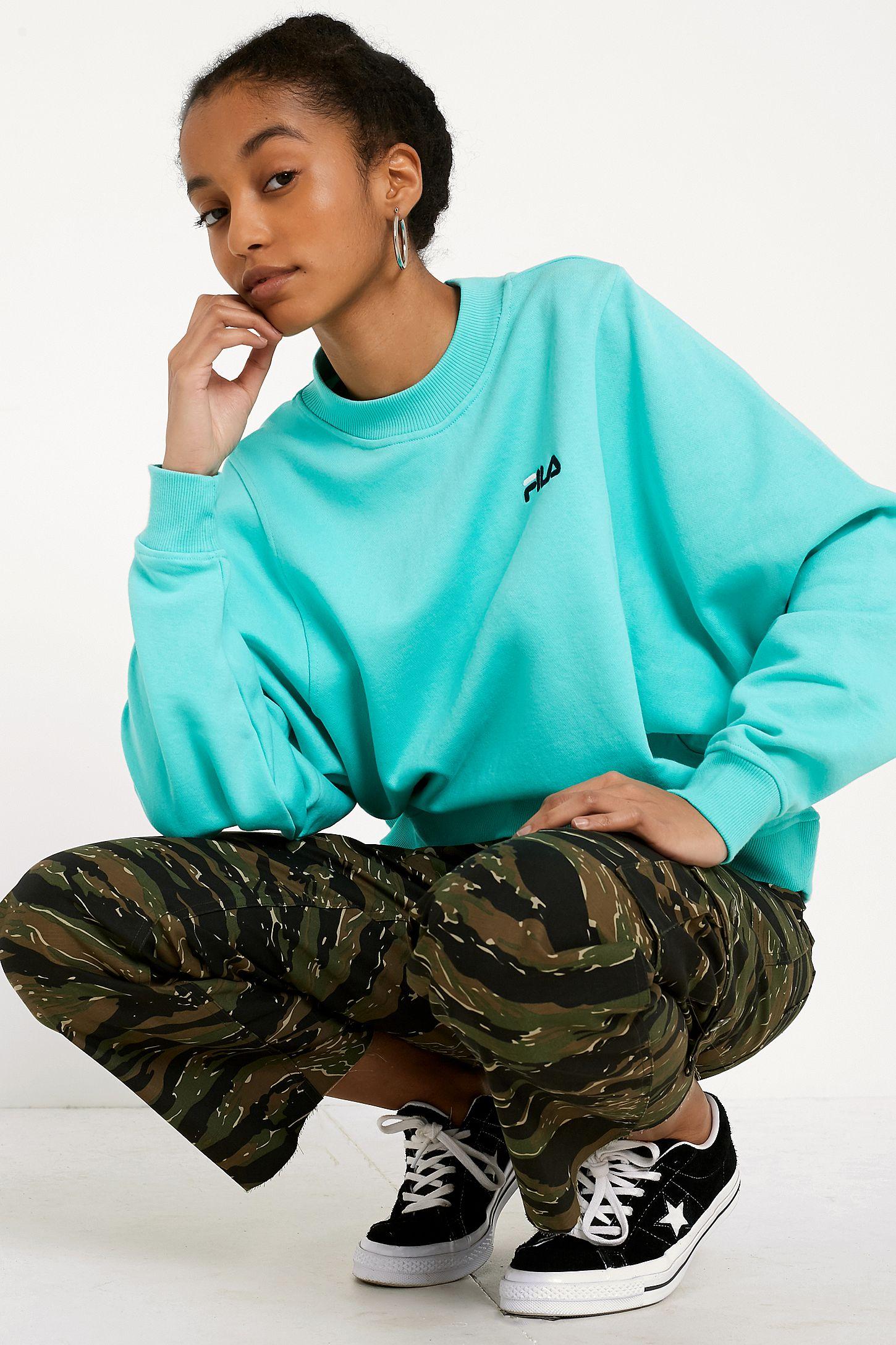 a25cd5925b6 FILA Summer Teal Sweatshirt