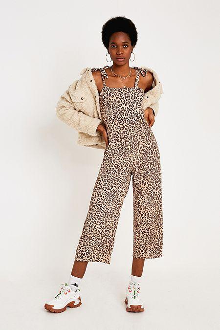 02c40a4945d Faithfull The Brand Elsa Leopard Print Jumpsuit