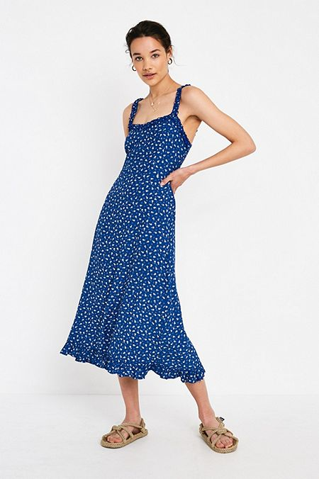 633ea2051d2e Faithfull The Brand Noemie Floral Midi Dress