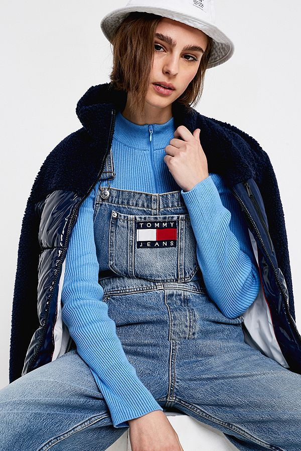 f2f7a501dea Tommy Jeans Denim Dungarees
