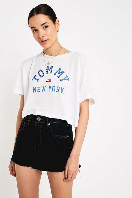 223ff4dabdb Tommy Jeans Collegiate Logo T-Shirt. Quick Shop