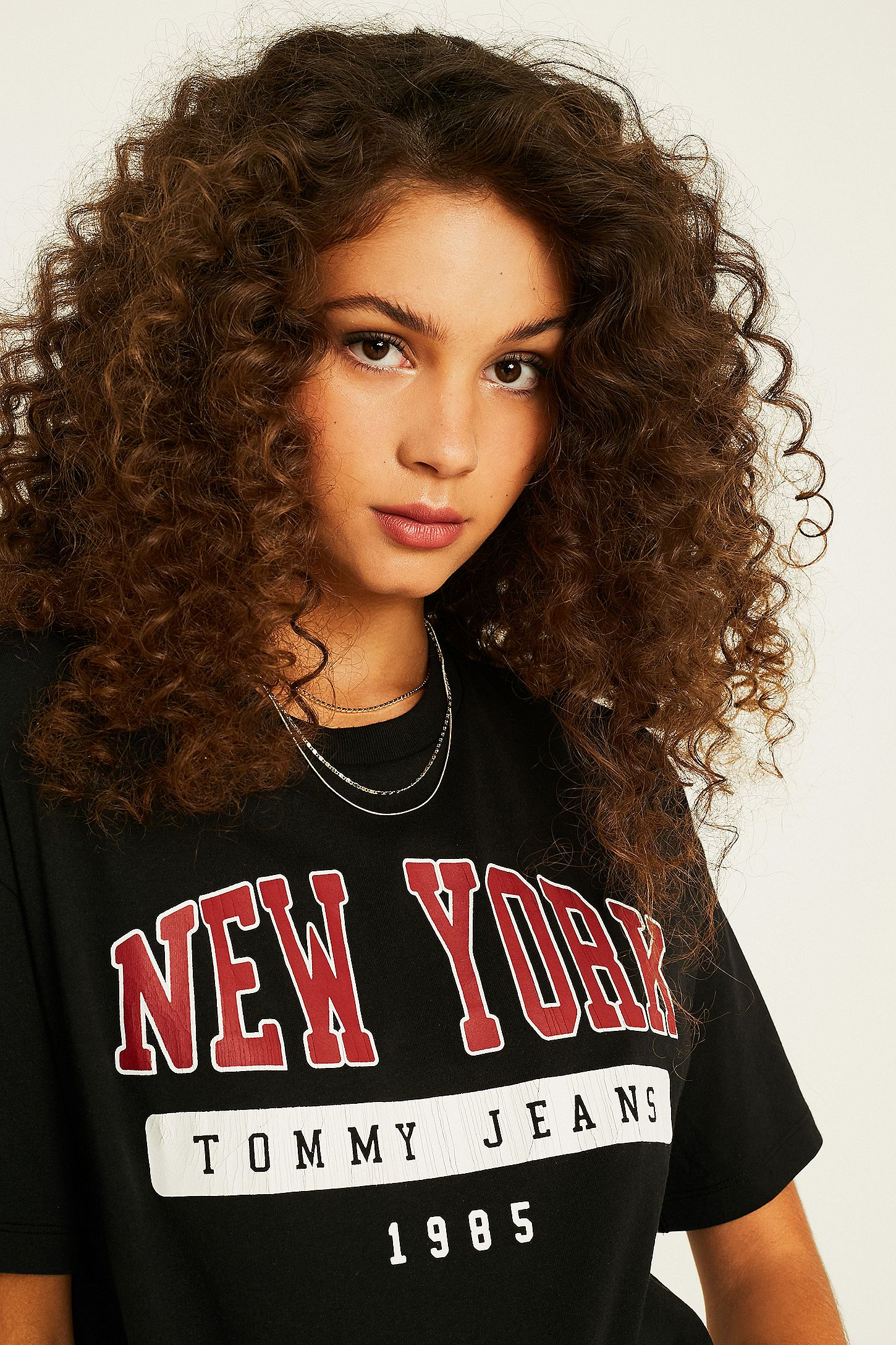 f9564ea7be Tommy Jeans New York Black Logo T-Shirt