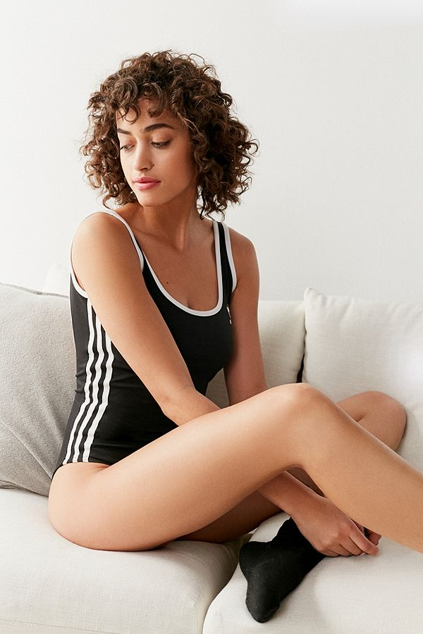 4a48893c7580 adidas Originals Adicolour 3-Stripes Black Bodysuit