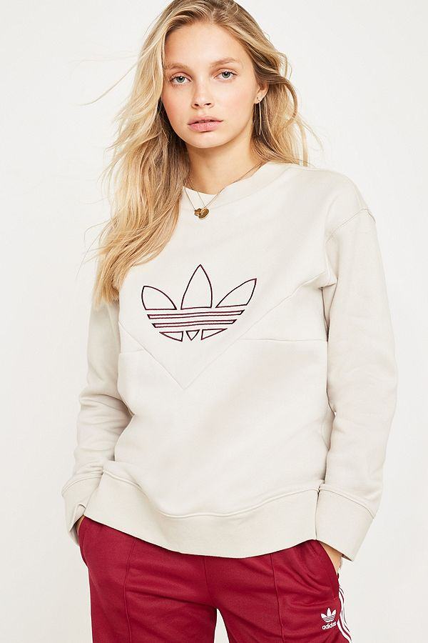 c1c8de451f14 adidas Originals CLRDO White Sweatshirt