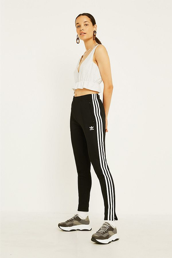 adidas Originals Pantalon de survêtement cigarette à 3 bandes