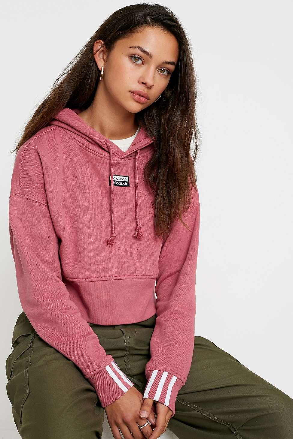 Adidas Originals Vocal Cropped Hoodie by Adidas Originals