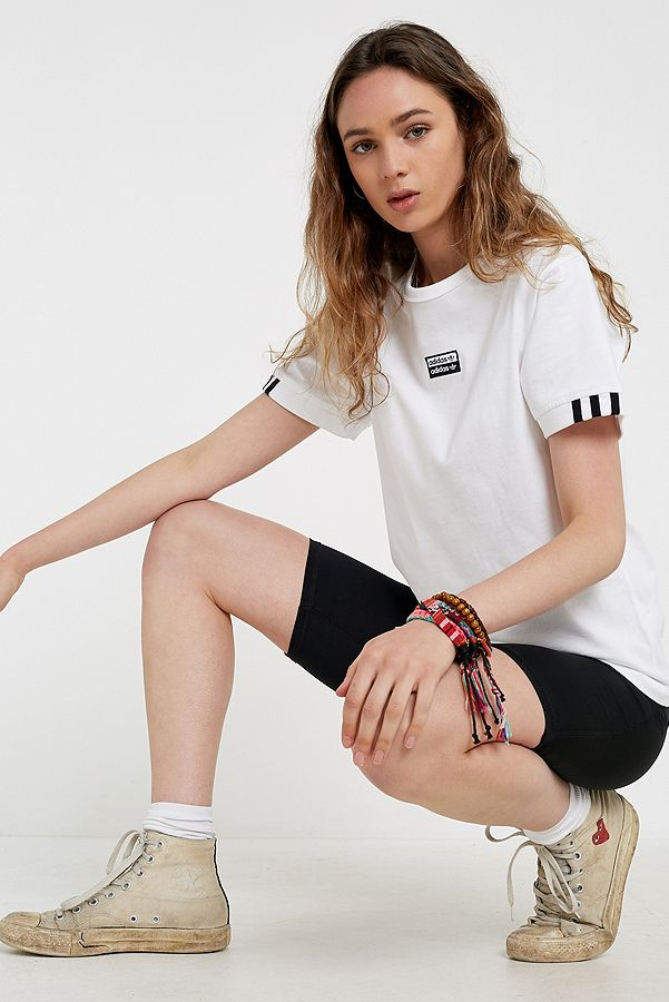 adidas Originals T shirt Vocal blanc