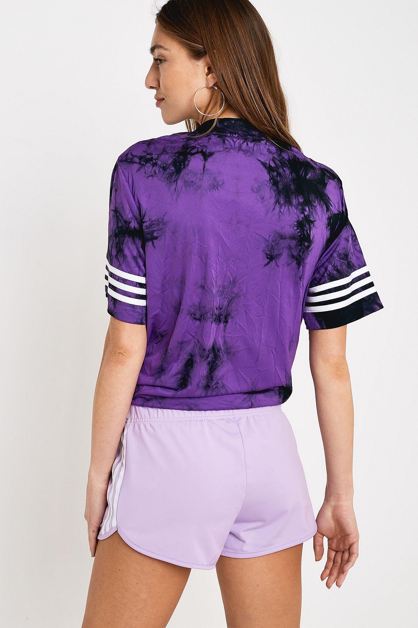 adidas Originals Lilac 3 Stripe Shorts