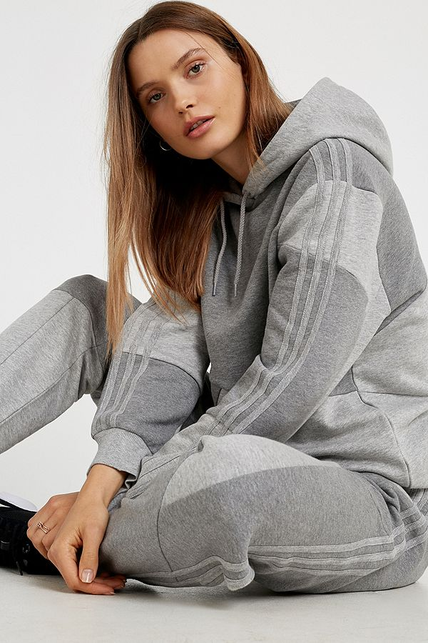 adidas Originals X Daniëlle Cathari Sweat à capuche color block gris