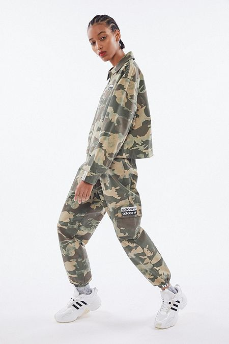 pantalon adidas large femme