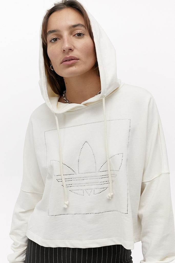 Adidas Originals Sweat court à 3 bandes | Urban Outfitters