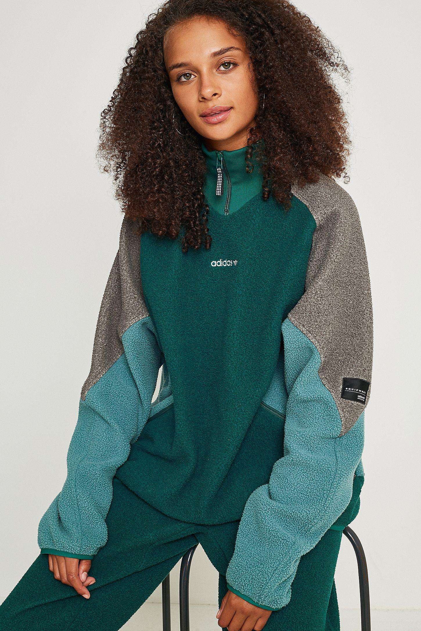 adidas Originals Veste polaire EQT vert