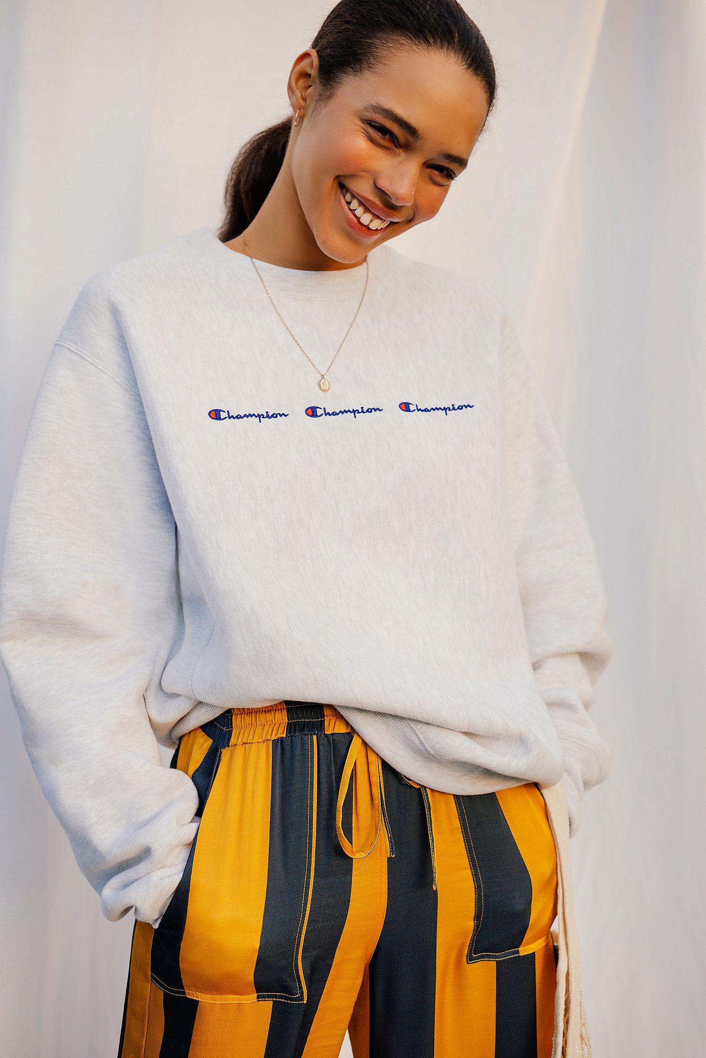 3528250c032 Champion Grey Logo Sweatshirt