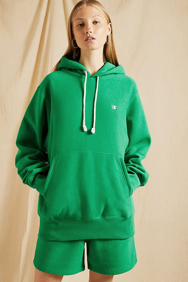 aad272e97360 Champion Green Pullover Hoodie