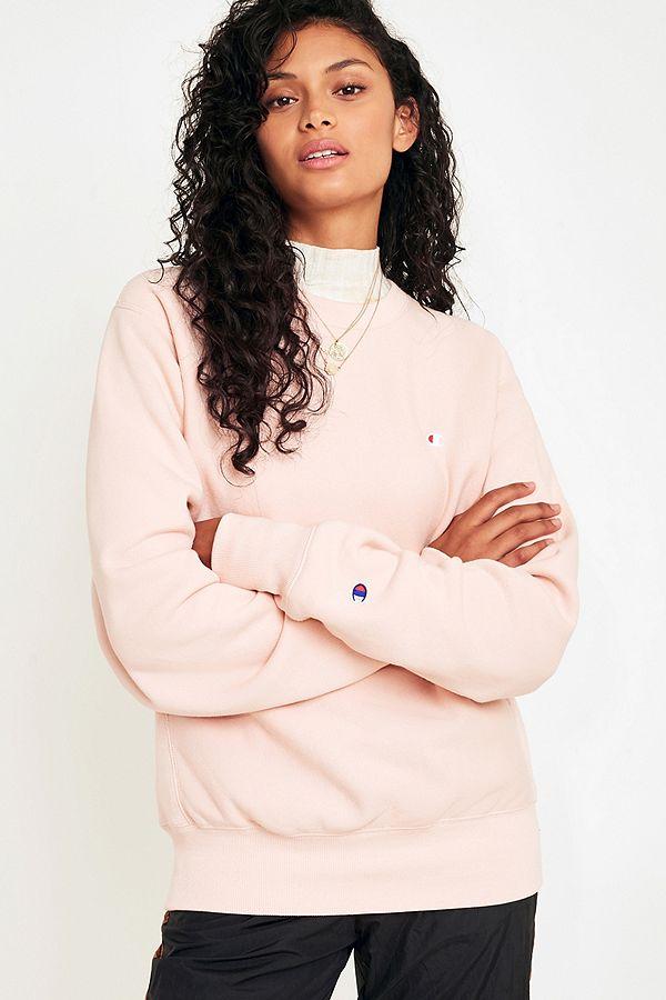 Champion Uo Neck Pink Sweatshirt Crew X Blush hCrdtsQ