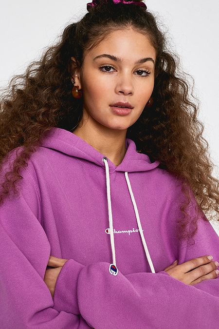 Champion - Sweat à capuche violet à logo exclusivité UO 1cef294e10c