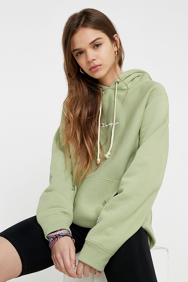 Champion Uo Exclusive Sage Logo Script Hoodie by Champion