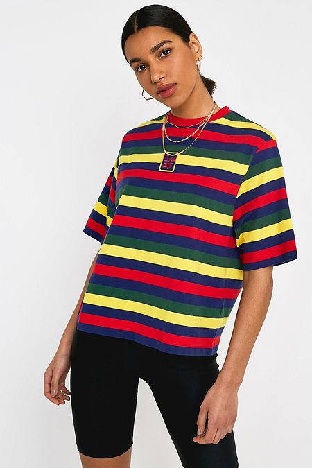 3470dced69 Lazy Oaf Primary Stripe Short-Sleeve T-Shirt