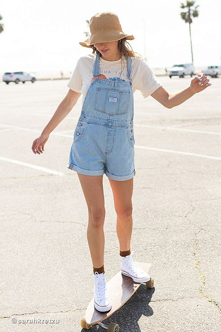 634c238a897 Levi s Vintage Wash Shortall Dungarees