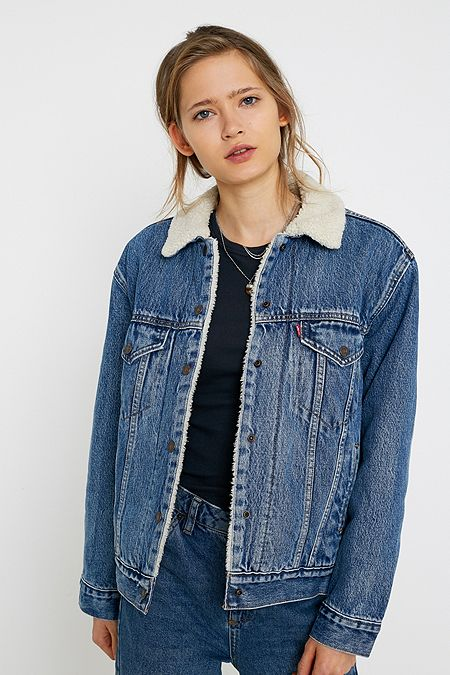 the latest 030e7 54075 Herren Jacken | Denim, Jeans, Cord & Sherpa | Urban ...
