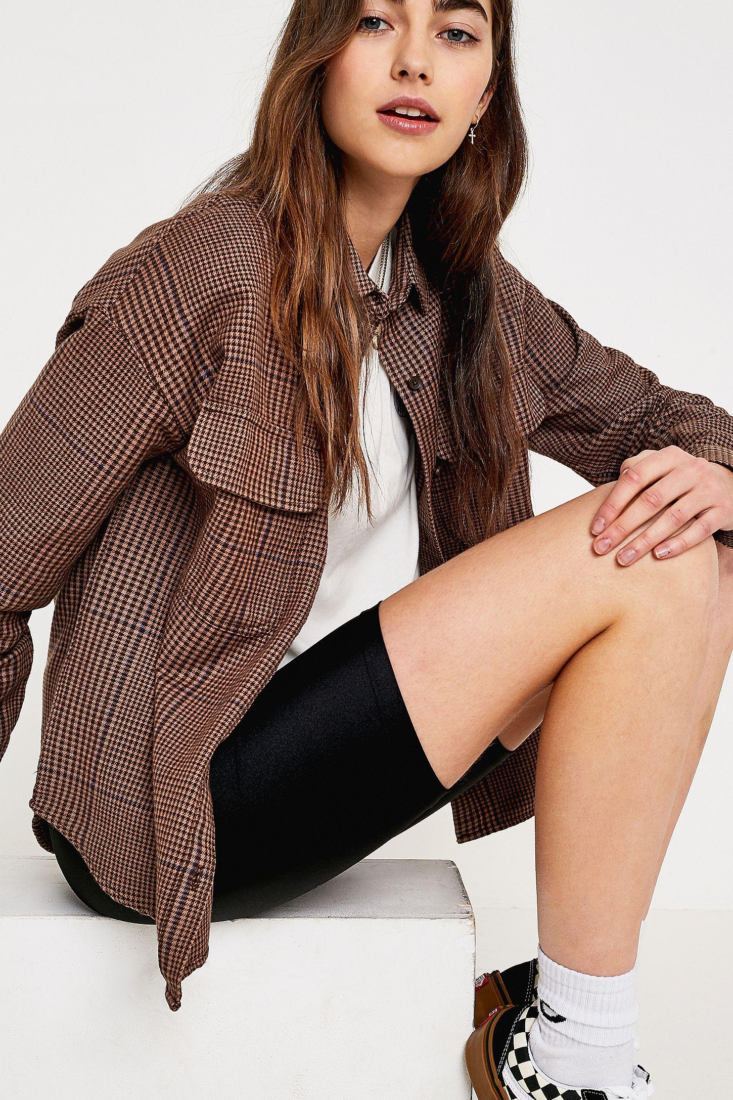 6716abb48a Vans Junction Woven Long-Sleeve Shirt | Urban Outfitters UK