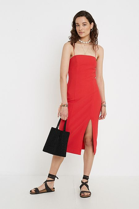 bc1d8e77ff4 Finders Keepers Magdelena Red Midi Dress · Quick Shop