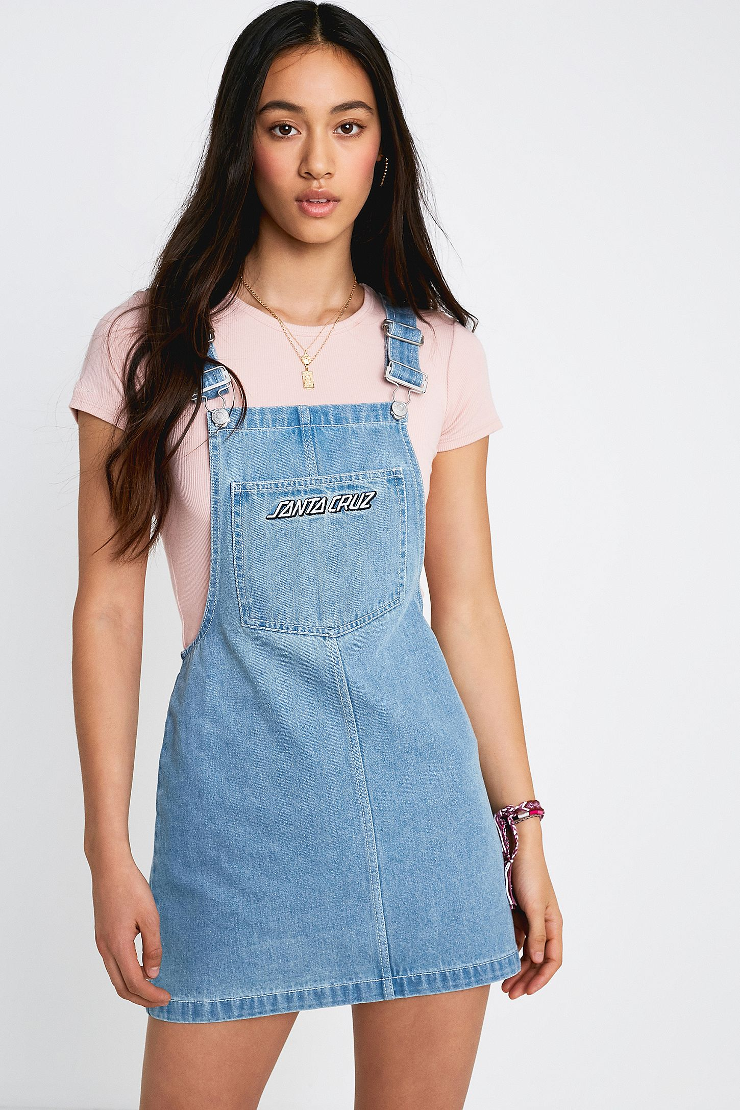 exclusive range enjoy cheap price big selection Santa Cruz Gardener Denim Pinafore Dress