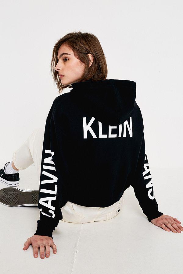 b5cc6f284895 Calvin Klein Jeans Institutional Logo Black Hoodie