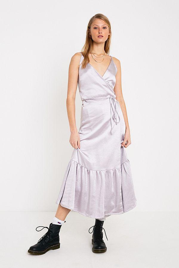 e699fa66437 Slide View  1  Gestuz Fabi Satin Slip Maxi Dress