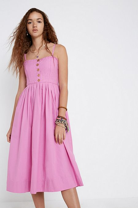 520db7bb9c0 Free People Lilah Pleated Tube Dress