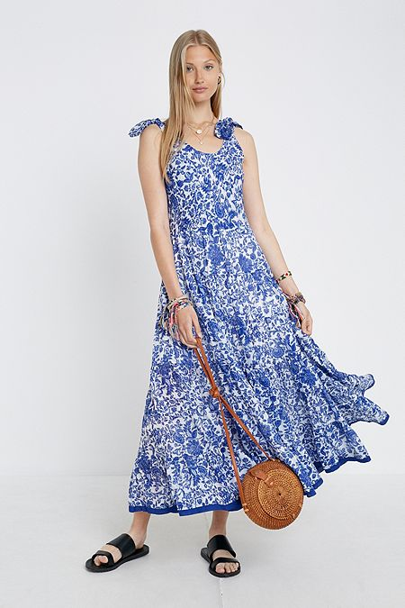761f1483d05 Free People Kika s Printed Midi Dress