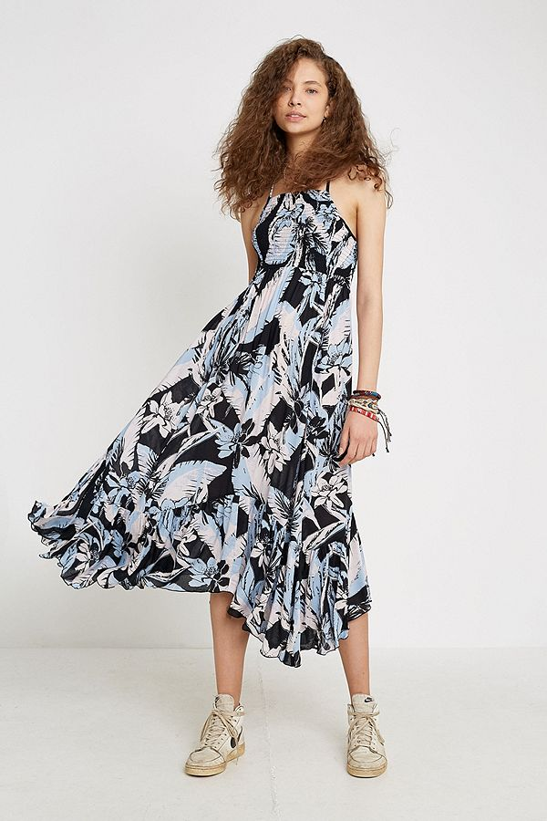 c99ad42e8341d Free People Heatwave Printed Maxi Dress | Urban Outfitters UK