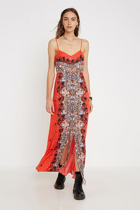 8402f46d0f0b Free People Morning Song Printed Maxi Dress