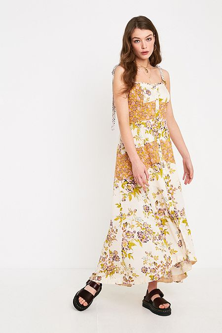 d87ce7bff72 Free People Lover Print Maxi Dress