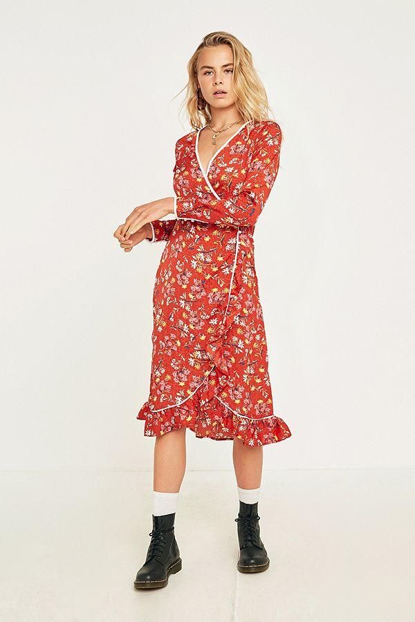 e1e5e52134510 Free People Covent Garden Floral Midi Dress